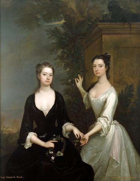 18th Century Style「Lady Elizabeth And Lady Henrietta Finch」:写真・画像(16)[壁紙.com]