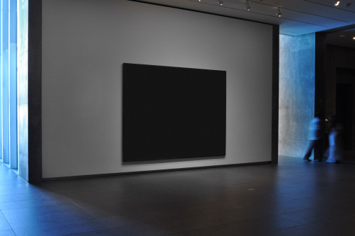 Black Color「Art museum」:スマホ壁紙(13)