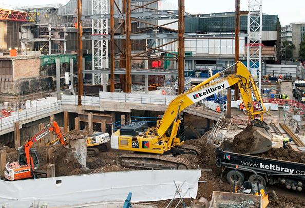 Shard London Bridge「Groundworks on the site of the architect Renzo Piano designed Shard building, London Bridge, UK」:写真・画像(8)[壁紙.com]