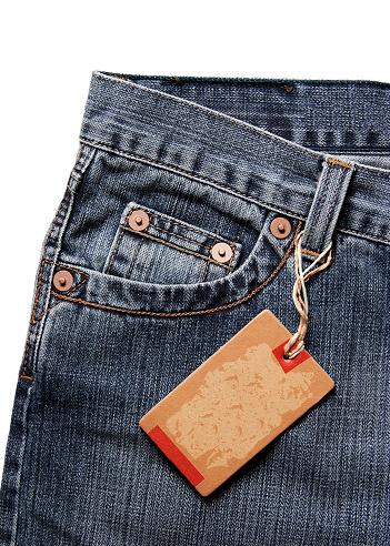 Sewing「Blank tag on jeans」:スマホ壁紙(8)