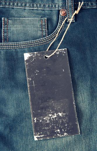 Sewing「Blank tag on jeans」:スマホ壁紙(7)