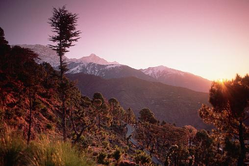 Himalayas「Sunrise at Dharamsala」:スマホ壁紙(6)