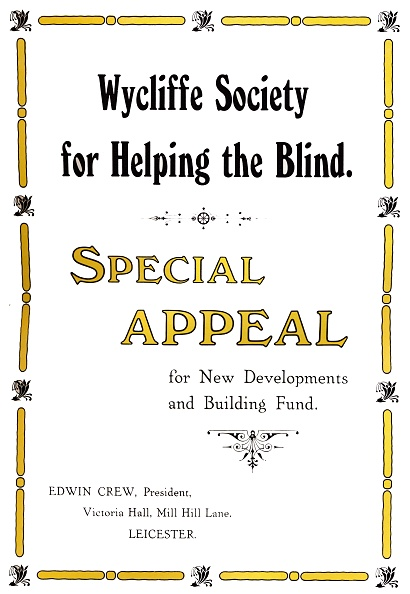 Making Money「Wycliffe Society For Helping The Blind, 191」:写真・画像(19)[壁紙.com]