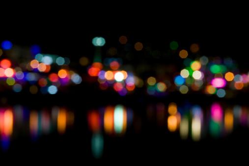Multiple Exposure「Defocused lights」:スマホ壁紙(9)