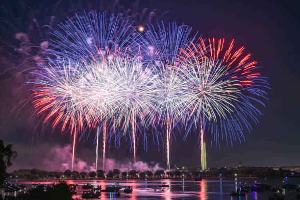 花火 - 7月4日の独立記念日を祝う:スマホ壁紙(壁紙.com)