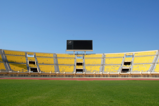 Agricultural Field「Scoreboard in Empty Stadium」:スマホ壁紙(12)
