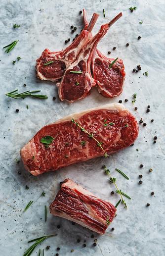 Meat Chop「Raw red meat cuts」:スマホ壁紙(8)