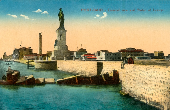Tourism「Port-Said - General View And Statue Of Lesseps」:写真・画像(10)[壁紙.com]