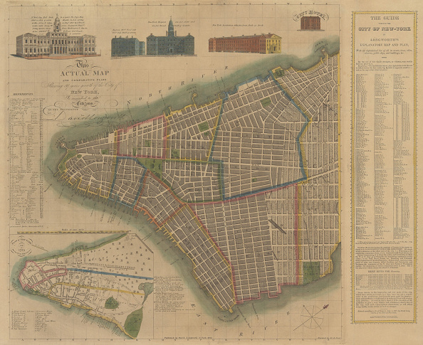 Metropolitan Museum Of Art - New York City「The City Of New York: Longworths Explanatory Map And Plan」:写真・画像(3)[壁紙.com]