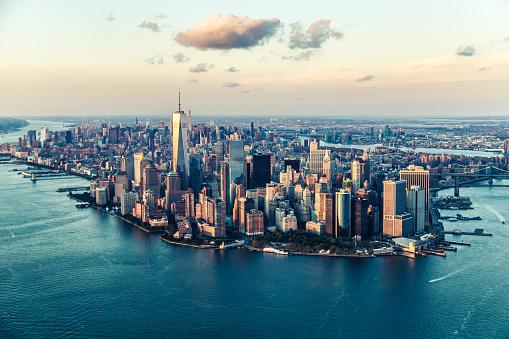 New York State「The City of Dreams, New York City's Skyline at Twilight」:スマホ壁紙(16)