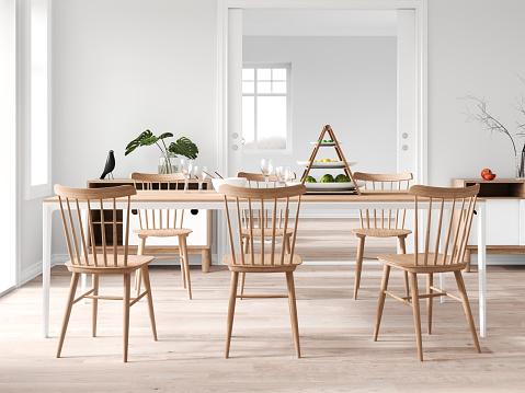 Dining Table「Modern dining room」:スマホ壁紙(15)