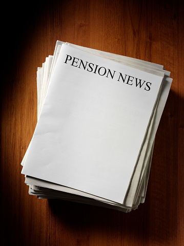 Typescript「Pension Newspaper Headline」:スマホ壁紙(13)
