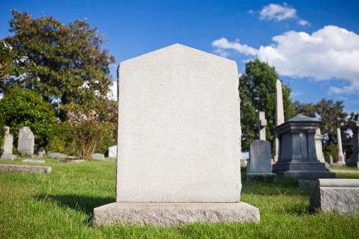Death「Blank Tombstone」:スマホ壁紙(15)