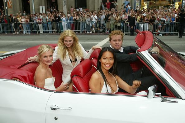 Charlie's Angels「Cameron Diaz, Drew Barrymore, Lucy Liu and Mc G」:写真・画像(0)[壁紙.com]