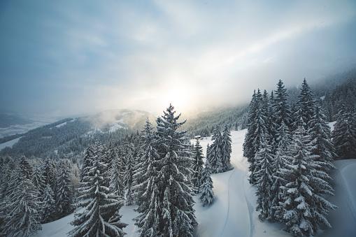 Agricultural Building「Ski holiday in Austria」:スマホ壁紙(2)