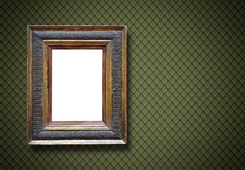 Mirror - Object「Ornate Picture Frame (All clipping paths included)」:スマホ壁紙(5)