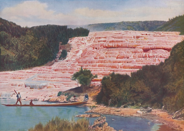 Tourism「Flushed Beauty Of New Zealands Pink Terraces Before Their Utter Destruction C」:写真・画像(10)[壁紙.com]
