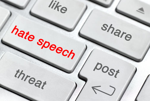 Problems「Hate Speech on keyboard」:スマホ壁紙(17)