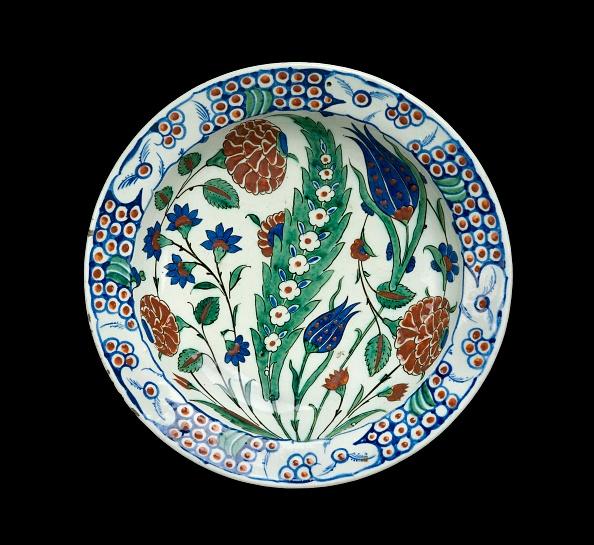 Ceramics「Dish With Leaf And Flowers」:写真・画像(8)[壁紙.com]