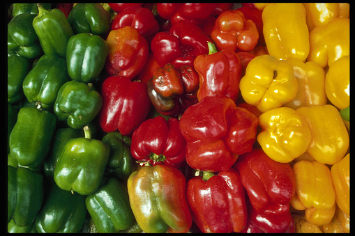 Bell Pepper「Bell Peppers for Sale at Market」:スマホ壁紙(4)
