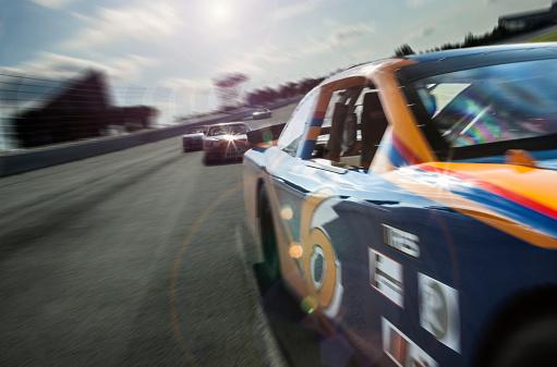 Racecar「Stock car race」:スマホ壁紙(14)