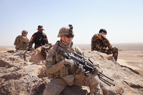 Army Soldier「U.S. Soldiers Provide Security Around Kandahar Airfield」:写真・画像(5)[壁紙.com]
