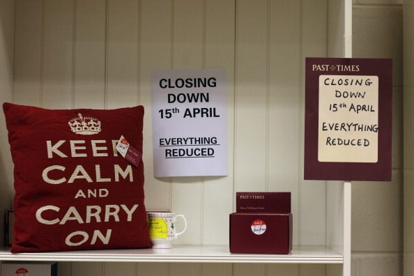 Closed「The British Retail Consortium Announce The Worst Fall In Sales Since Records Began」:写真・画像(13)[壁紙.com]