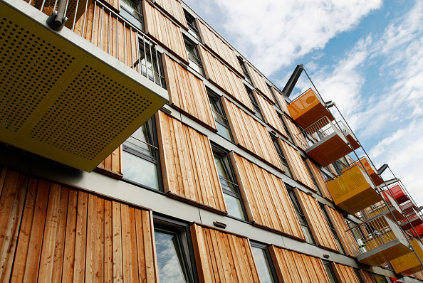 Timber「Adelaide wharf, a sustainable development and 2008 RIBA award winning design in Hackney, North-East London, UK」:写真・画像(18)[壁紙.com]