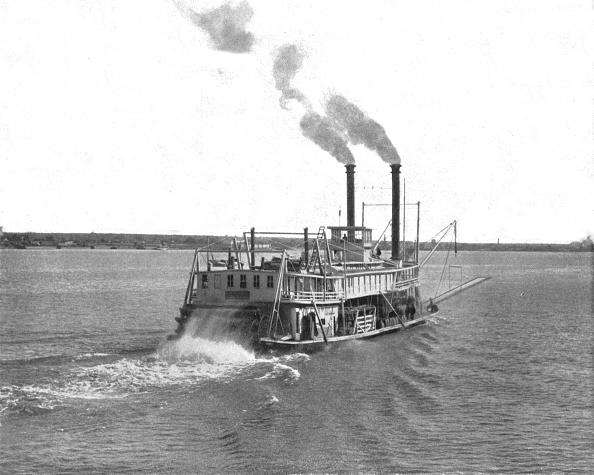 1900-1909「Mississippi Paddle Steamer」:写真・画像(6)[壁紙.com]