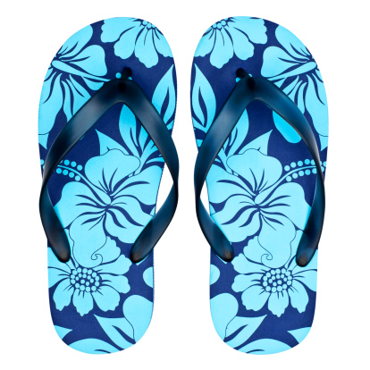 Flip-Flop「Pair of floral sandals / flip flops」:スマホ壁紙(17)