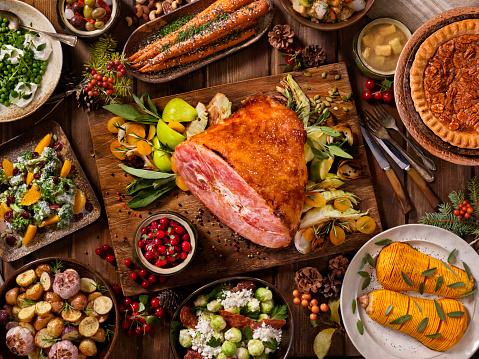 Cranberry Sauce「Holiday Ham Dinner」:スマホ壁紙(11)