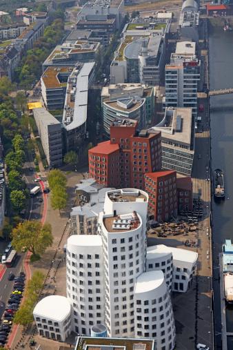 Postmodern「Mediahaven district of Dusseldorf」:スマホ壁紙(15)