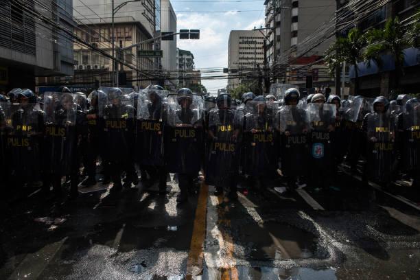 Riot Police「U.S. President Trump Visits The Philippines」:写真・画像(10)[壁紙.com]