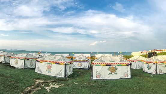 Entertainment Tent「Tent,Inner Mongolia,China」:スマホ壁紙(1)