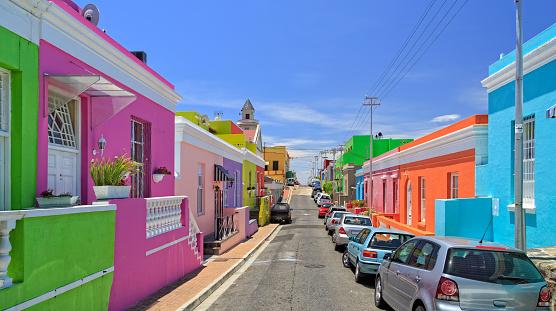Malay Quarter「Bo Kaap Township in Cape Town」:スマホ壁紙(0)