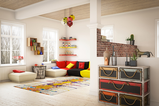 Drawer「Cozy Home Interior」:スマホ壁紙(2)