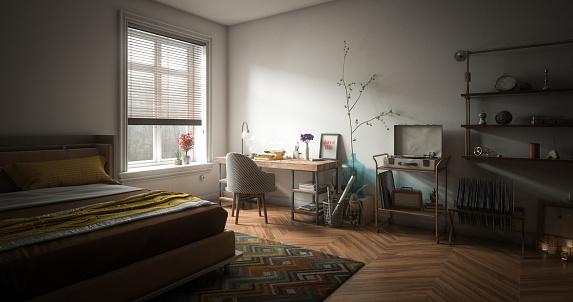 Turntable「Cozy Home Interior」:スマホ壁紙(4)