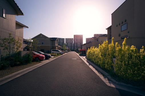Residential District「Newly built neighborhood in suburban Osaka, Japan」:スマホ壁紙(10)
