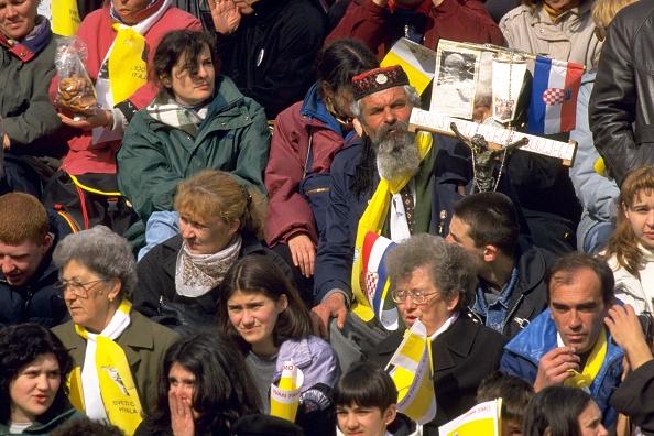 Religious Mass「Pope John Paul II In Sarajevo」:写真・画像(17)[壁紙.com]