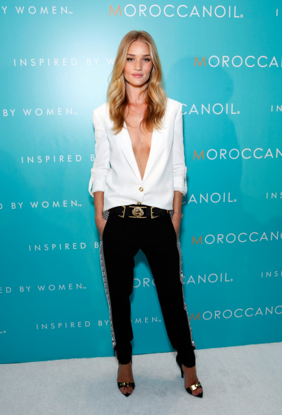 Rosie Huntington-Whiteley「Moroccanoil Inspired By Women Campaign Launch Event」:写真・画像(9)[壁紙.com]