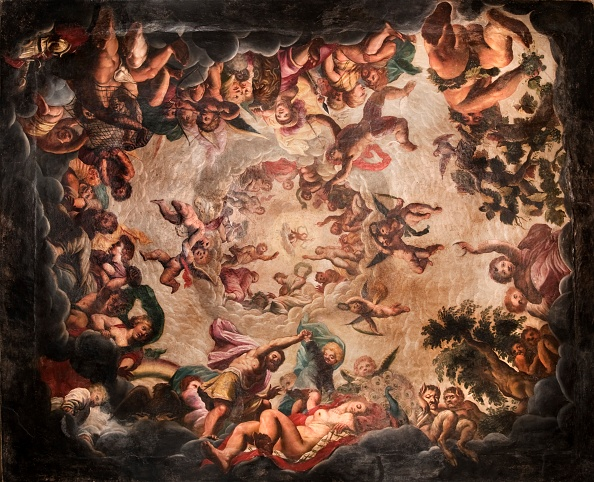 Painting - Activity「Ceiling Of The Elysium Room」:写真・画像(15)[壁紙.com]
