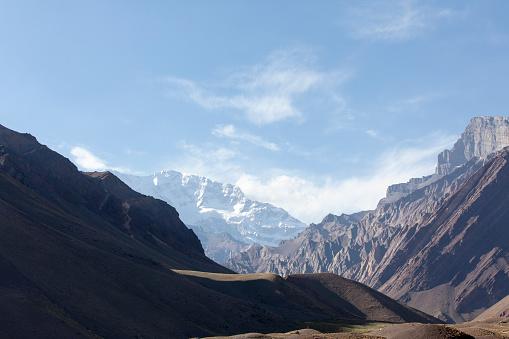 アコンカグア山「Mountain Aconcagua in Argentina」:スマホ壁紙(5)