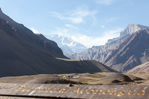 アコンカグア山「Mountain Aconcagua in Argentina」:スマホ壁紙(8)