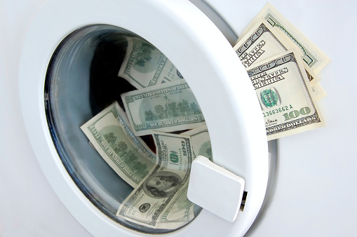 American One Hundred Dollar Bill「Money Laundry」:スマホ壁紙(0)