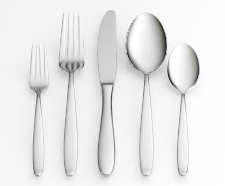 Spoon「Fork, knife and spoon set」:スマホ壁紙(5)