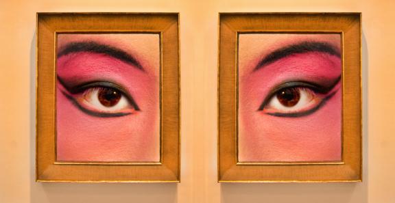 Eyesight「detail view of eyes framed」:スマホ壁紙(19)