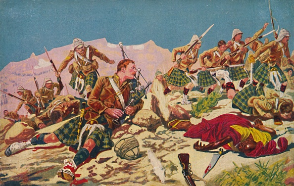 Bagpipe「The Gordon Highlanders How Piper Findlater Won The VC At Dargai」:写真・画像(10)[壁紙.com]