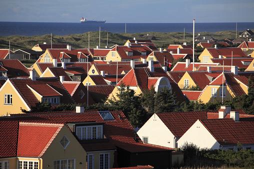 Danish Culture「View of Old Skagen」:スマホ壁紙(19)