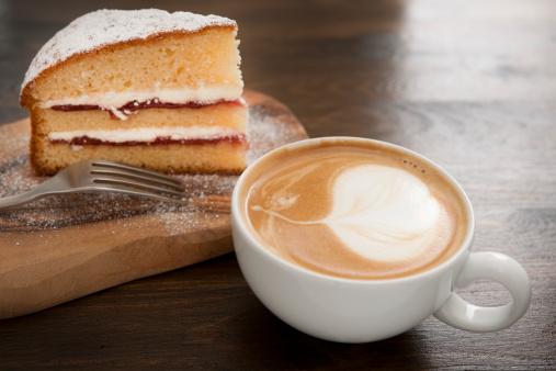 Dessert「coffee and cake」:スマホ壁紙(9)