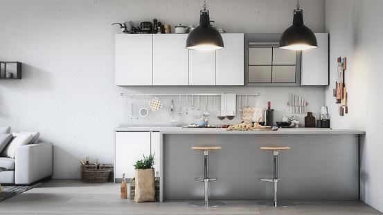 Toned Image「Scandinavian Style Home Interior」:スマホ壁紙(17)